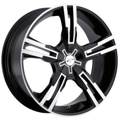 Platinum 291 292 Saber Gloss Black Snap-In Center Cap 89-9292B
