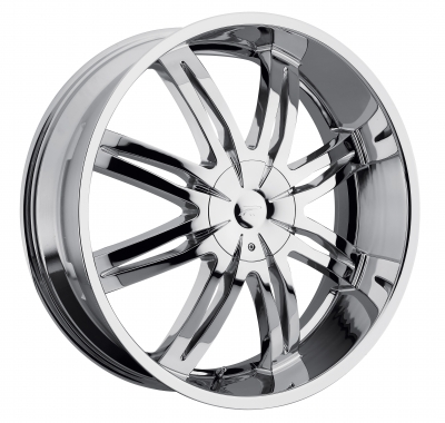 diamonte 299 chrome with black accent inserts
